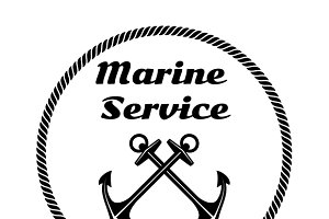 Logo Design for Marine Service