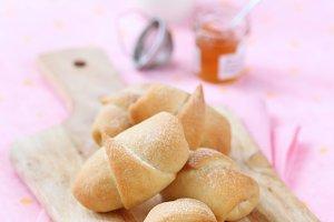 Hazelnut Roll Buns