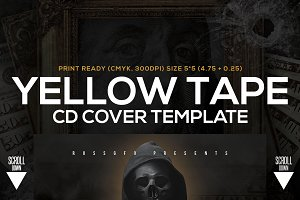 5 CD Cover Templates Bundle vol.2