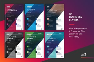 Corporate Flyer Templates 6PSD - #3