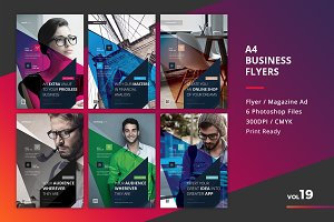 Corporate Flyer Templates 6PSD - #19