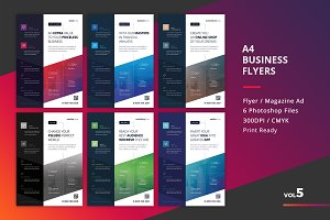 Corporate Flyer Templates 6PSD - #5