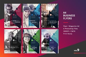 Corporate Flyer Templates 6PSD - #9