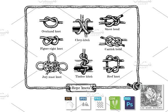 Different Rope Knots