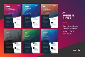Corporate Flyer Templates 6PSD - #16