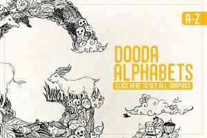 Dooda Alphabets A-Z