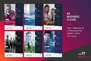 Corporate Flyer Templates 6PSD - #17