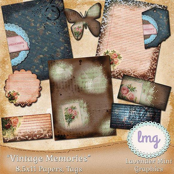 Vintage Memories Journal Kit