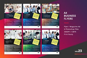 Corporate Flyer Templates 6PSD - #23