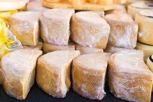 sheep cheeses from Badajoz