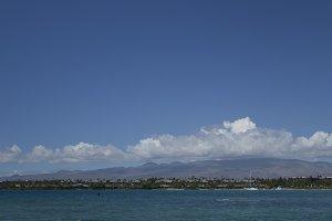 Blue Sky in Paradise, Hawaii