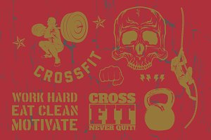 Crossfit Pack 1 | Vector