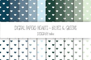 Hearts ~ Seamless Patterns