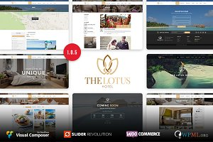 Lotus - Hotel Booking WordPressTheme