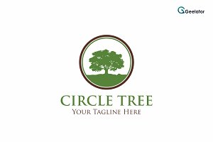 Circle Tree Logo Template
