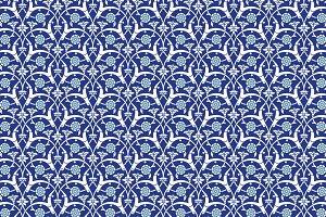 Uzbekistan Seamless Pattern