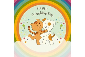 Cute Friendship Day card