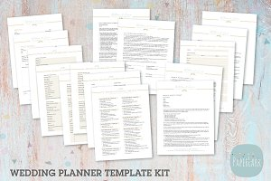 NG030 Wedding Planner Forms