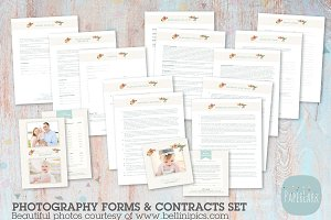 NG022 Photography Contracts & Forms