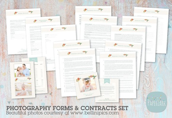 NG022 Photography Contracts Forms