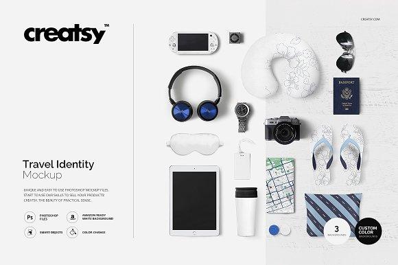 Download Travel Identity Mockup