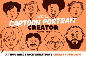 Cartoon Portrait Creator