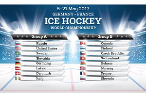 Ice Hokey World Championship 2017.