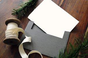 Insert & Envelope (Rustic)