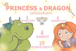 *PRINCESS & DRAGON collection*