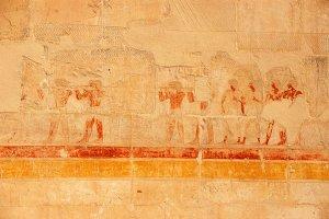 Egyptian fresco