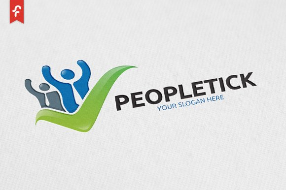 People Tick Logo