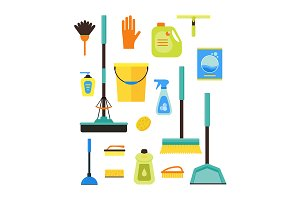 Cleaning Kit. Vector
