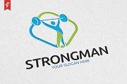 Strong Man Logo