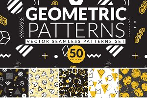 50 GEOMETRIC PATTERNS