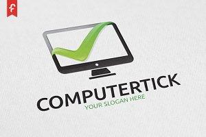 Computer Tick Logo