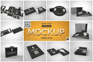Branding Stationary Mockup Set