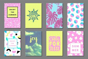 summer journaling cards