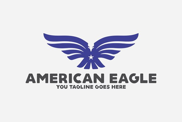 American Eagle in Logo Templates