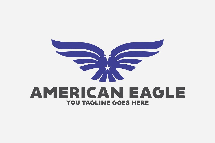 American Eagle in Logo Templates - product preview 8