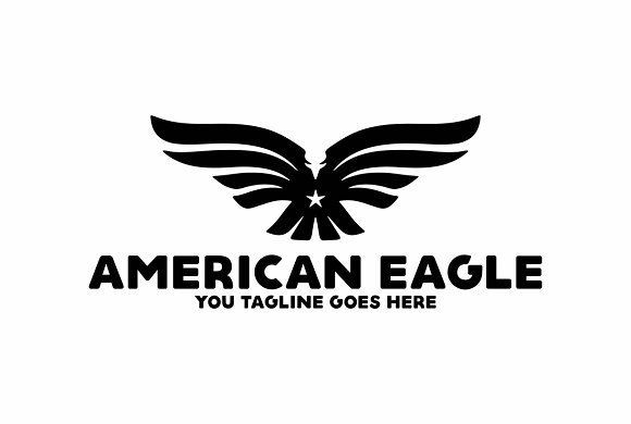 American Eagle in Logo Templates - product preview 1