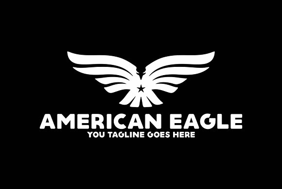 American Eagle in Logo Templates - product preview 2
