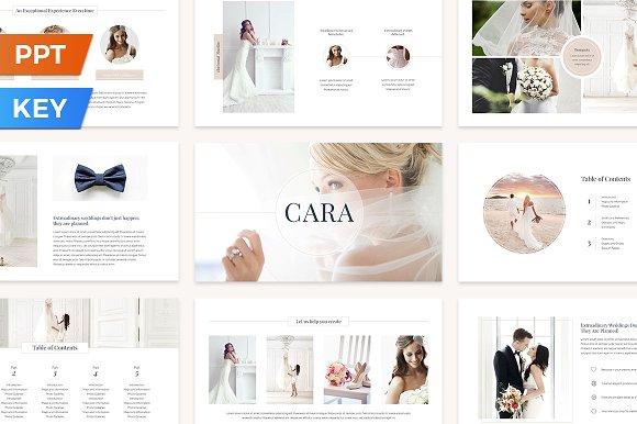 Cara Presentation Template-Graphicriver中文最全的素材分享平台