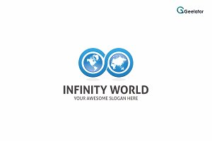 Infinity World Logo Template