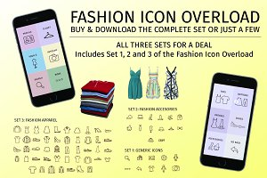 Fashion Icon Overload | Complete Set