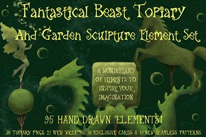 Fantastical Beast Garden Sculptures
