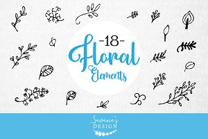Floral and Flower Elements