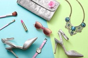 Fashion Woman Accessories. Lady