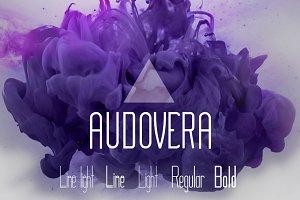 Audovera typeface