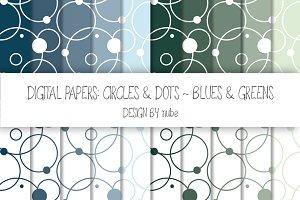 Circles and Dots ~ Seamless Patterns
