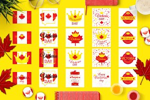 Victoria Day Banners